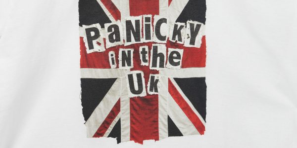 panicky in the uk t shirt