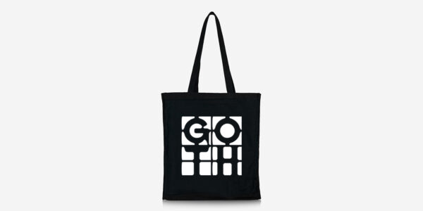 goth tote bag underground