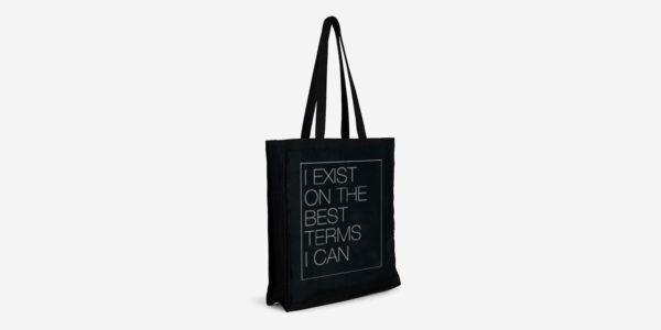 I exist tote bag