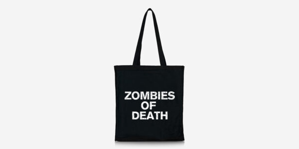 zombies of death tote bag