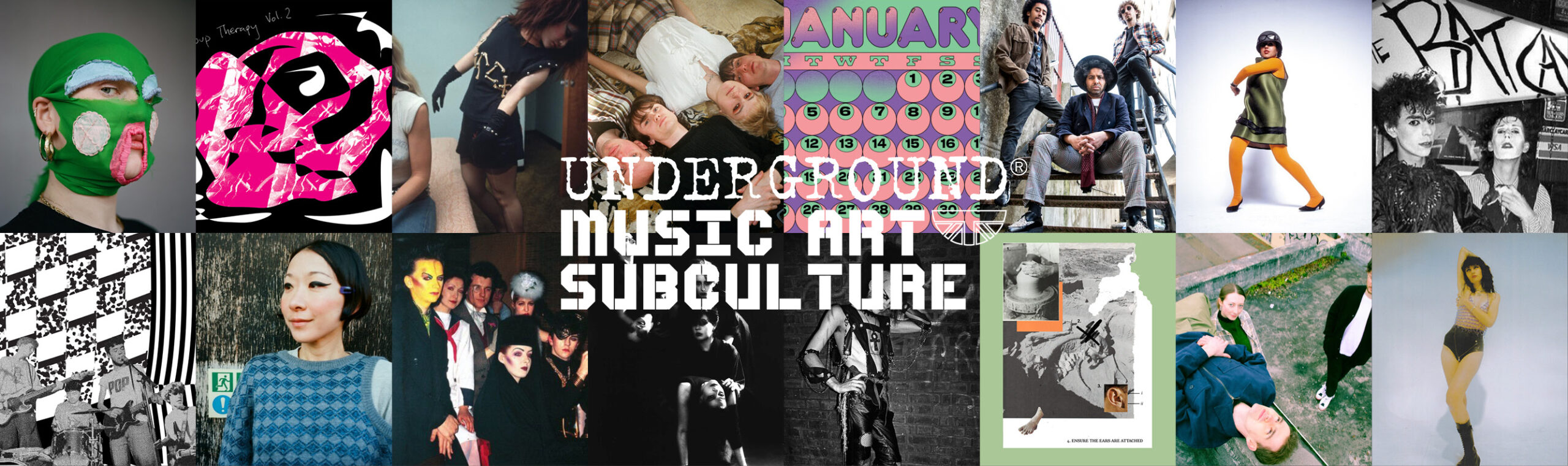 Music Art Subculture Banner