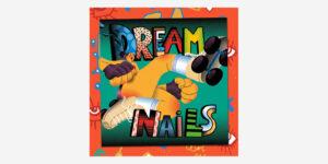 Dreamnails - Vinyl Album (Green and White Vortex)2