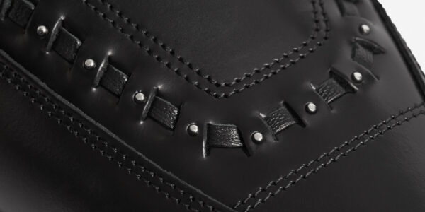 Underground Original x MOTÖRHEAD Apollo ace of spades Creeper black leather buckle shoe for men and