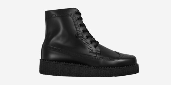 UNDERGROUND - LIMIT – LEATHER BLACK – BOOTS FOR MEN AND WOMEN