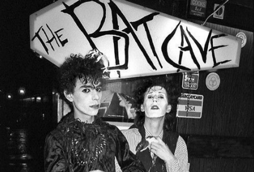 Photo of revellers at The Batcave