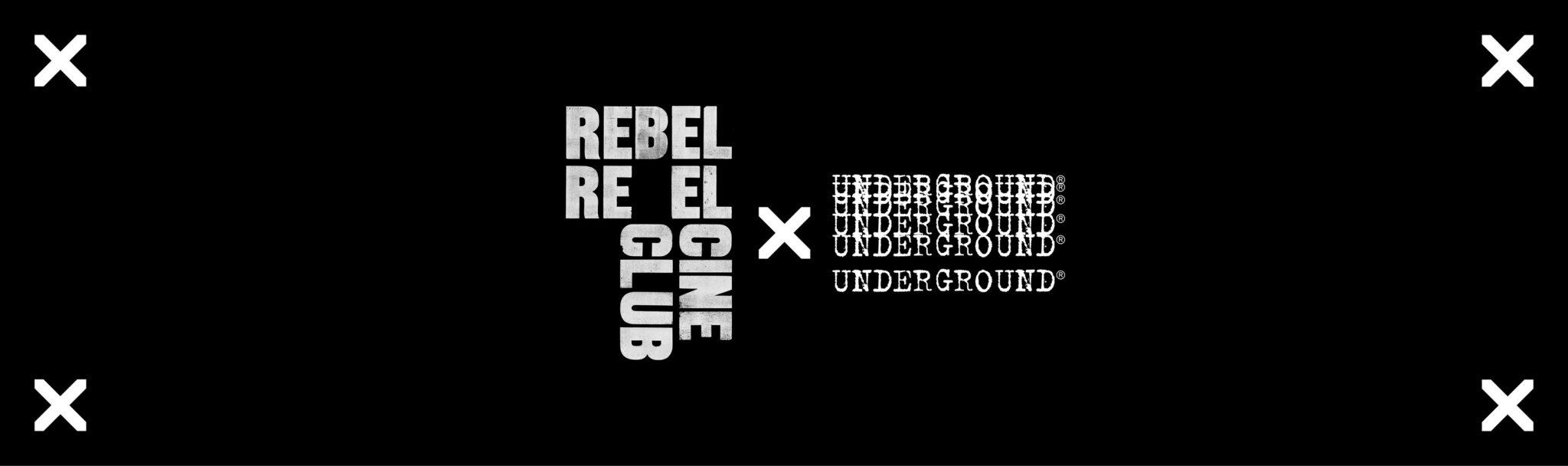 Underground England and Rebel Reels collaboration bannner