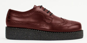 UNDERGROUND MACBETH BROGUE – CHERRY LEATHER – SHOES FOR MEN AND WOMEN