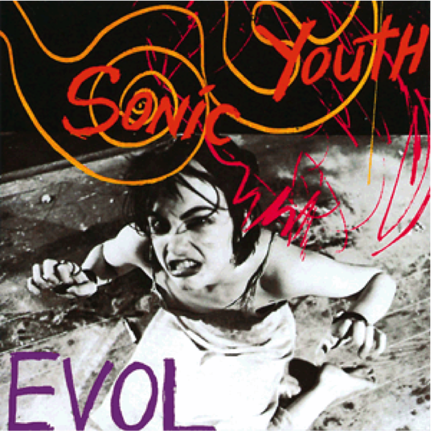 Sonic Youth – Evol - release of album May 1986 + review of Kim Gordon's Book Girl in A Band