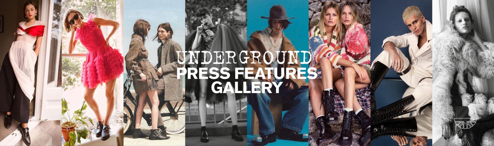 Underground England Press Features Gallery banner
