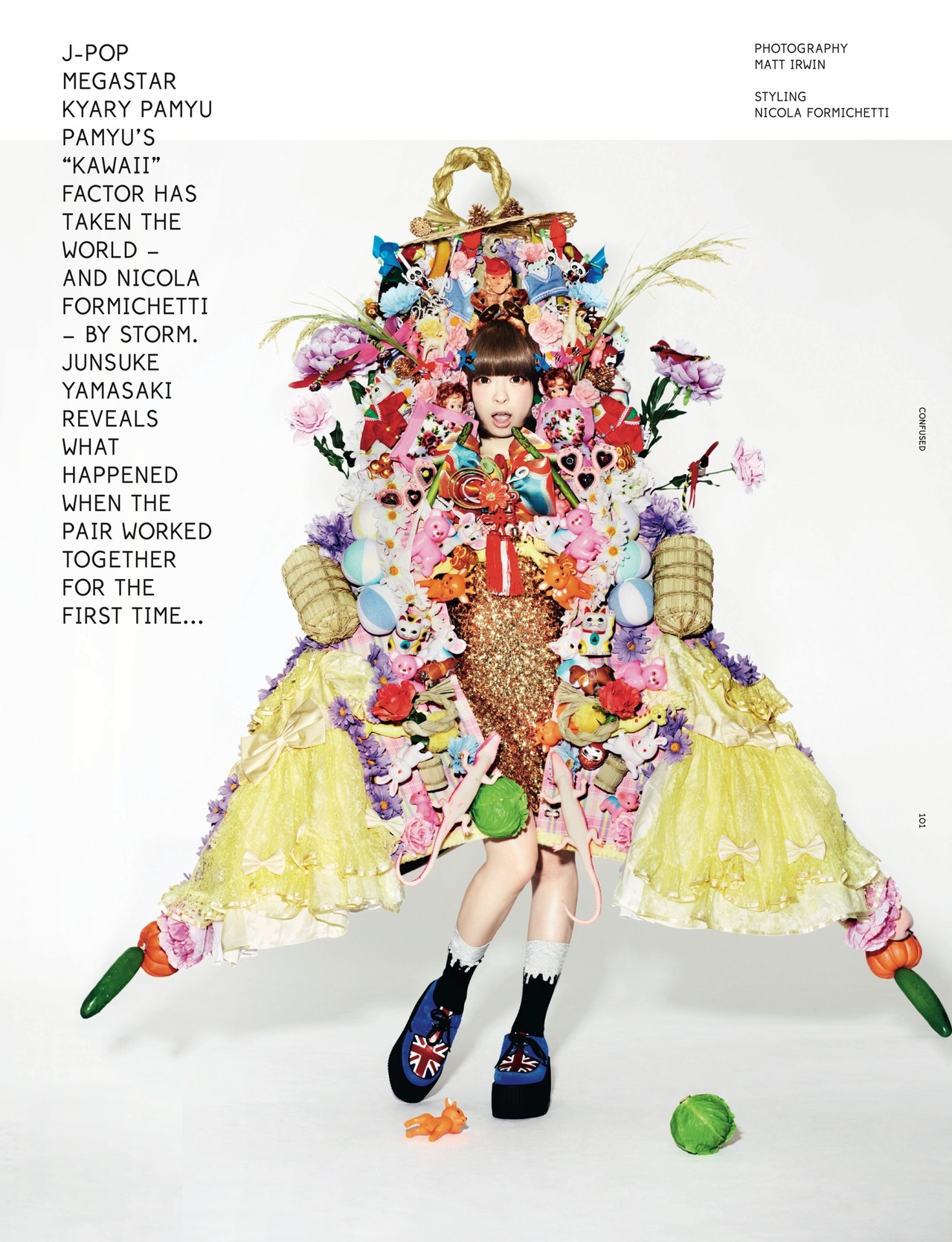 Kyary Pamyu Pamyu wearing Creepers Underground blog - Which bands and musicians wear Creepers?