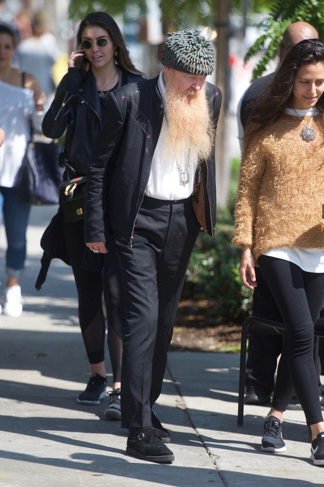 Billy Gibbons wearing Creepers Underground blog - Which bands and musicians wear Creepers?