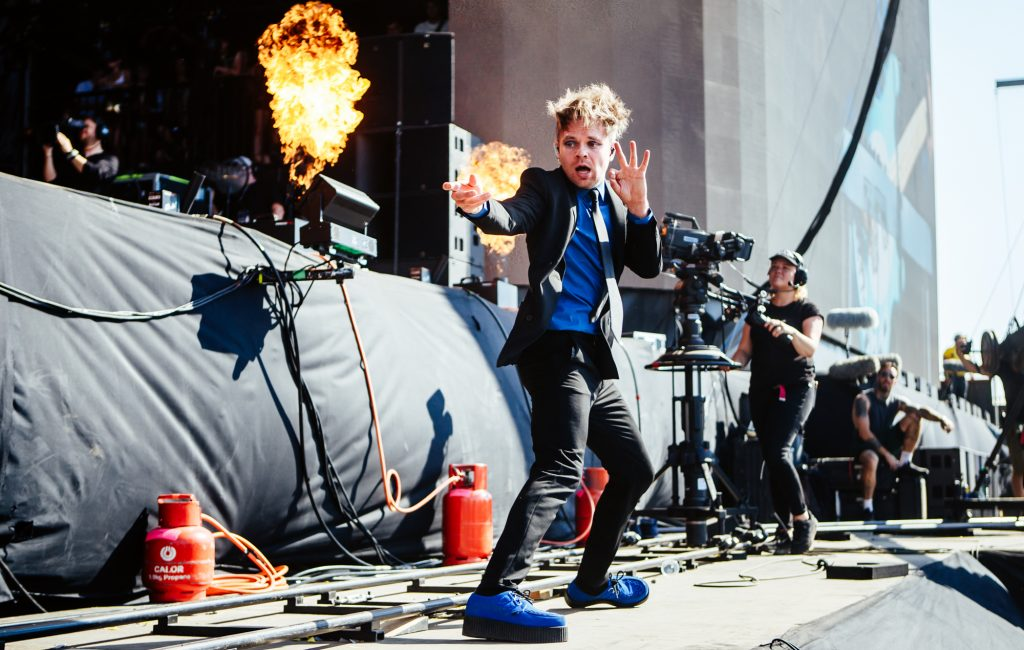 Enter Shikari wearing Creepers Underground blog - Which bands and musicians wear Creepers?