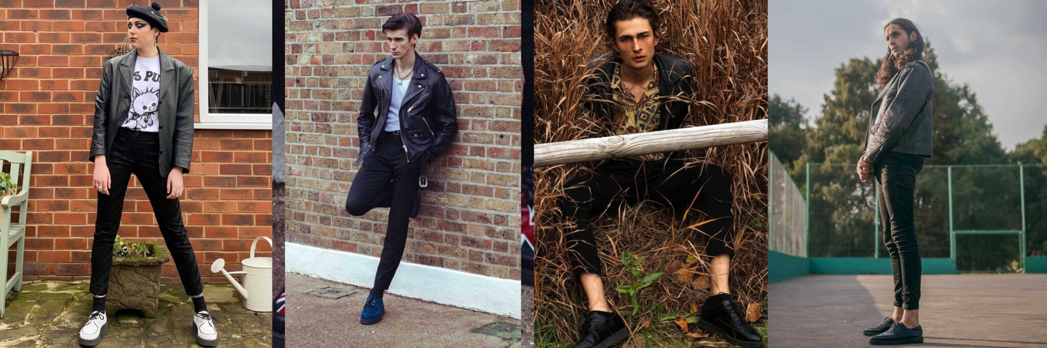 Leather - How To Style Creepers - Underground blog