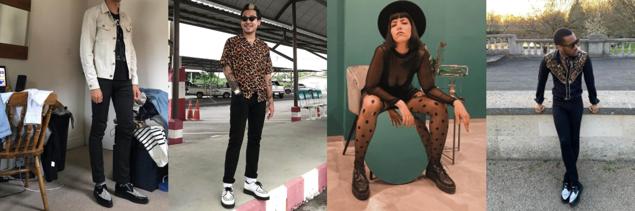 Monochrome - How To Style Creepers - Underground blog