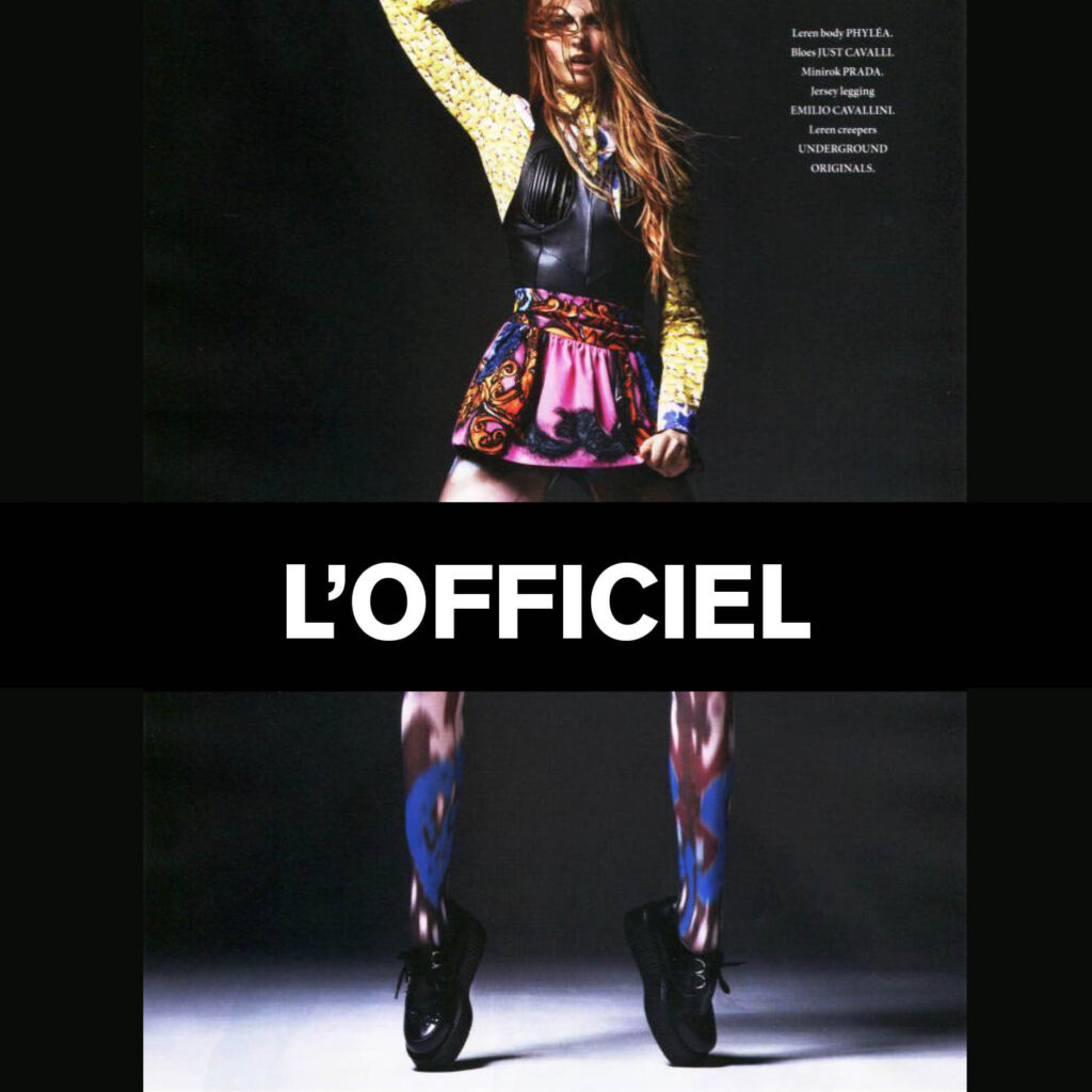 Press Features Gallery - L'Officiel