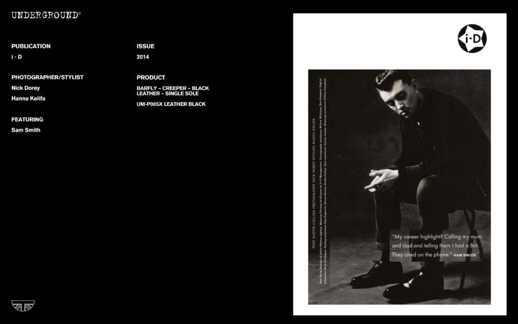Press Features Gallery - i-D Photographer/Stylist: Nick Dorey Hanna Kelifa