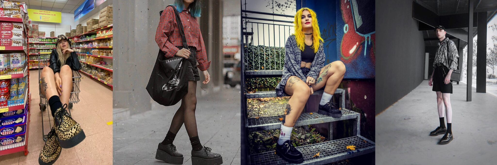 Shorts - How To Style Creepers - Underground blog
