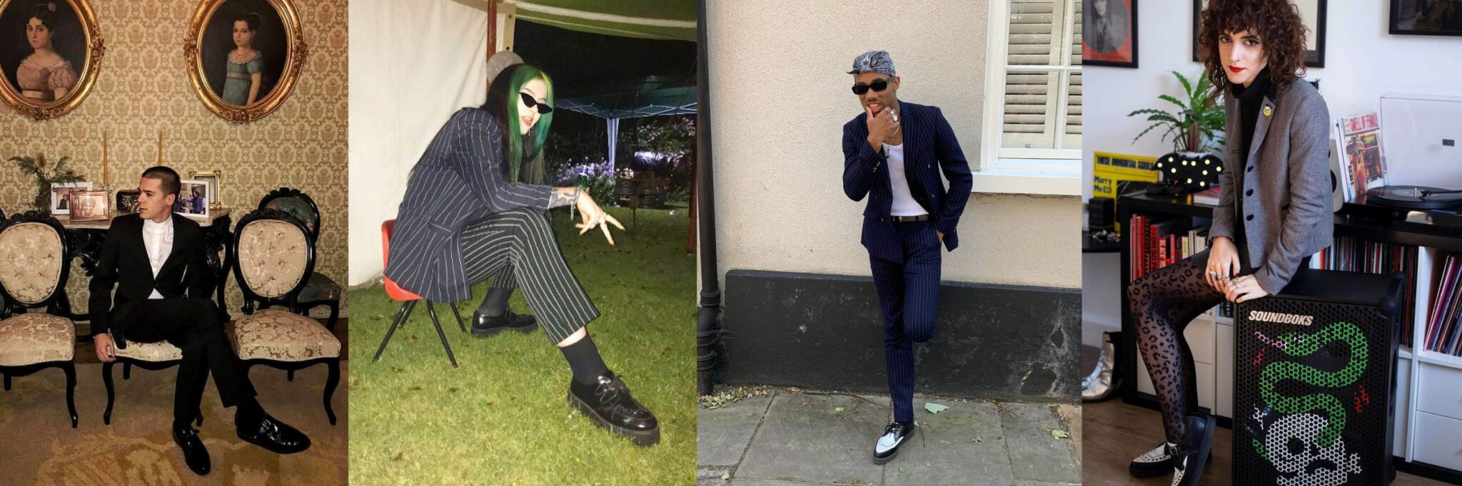 Suits - How To Style Creepers - Underground blog
