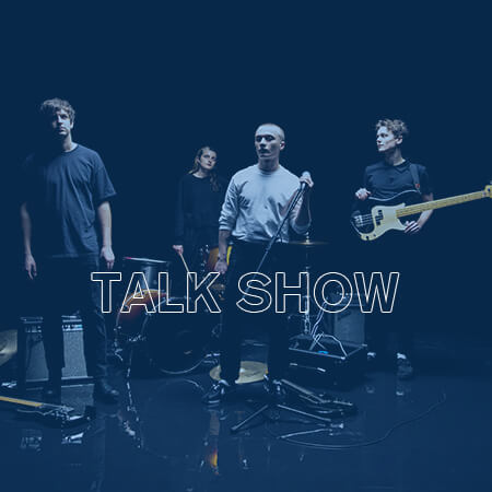 TALK SHOW BAND PAGE ICO