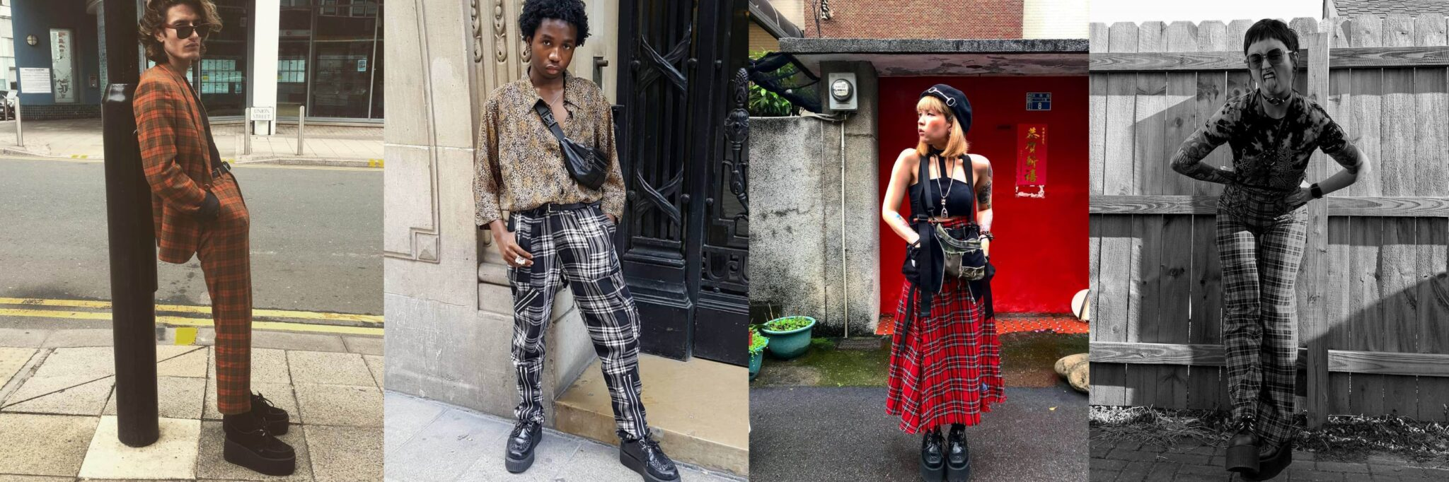 Tartan - How To Style Creepers - Underground blog