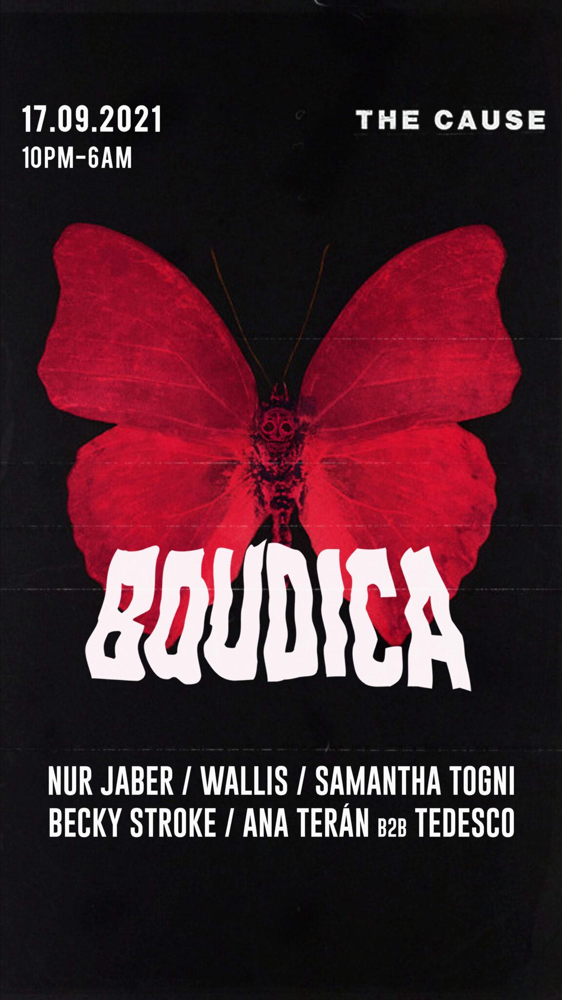 Samantha Togni Boudica blog post -Photo by @worldwidedisgrace