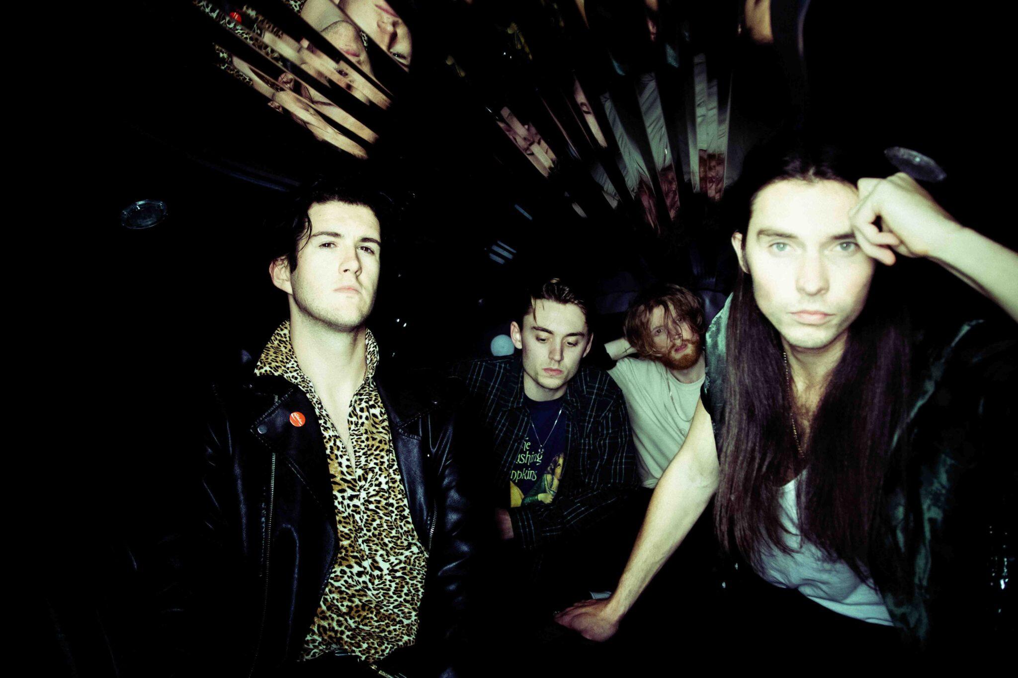 James and The Cold Gun band photo