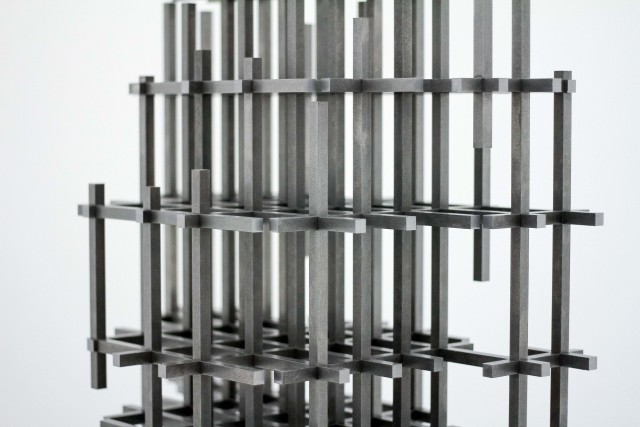 Image from Anthony Gormley at the White Cube Gallery - Underground England blog