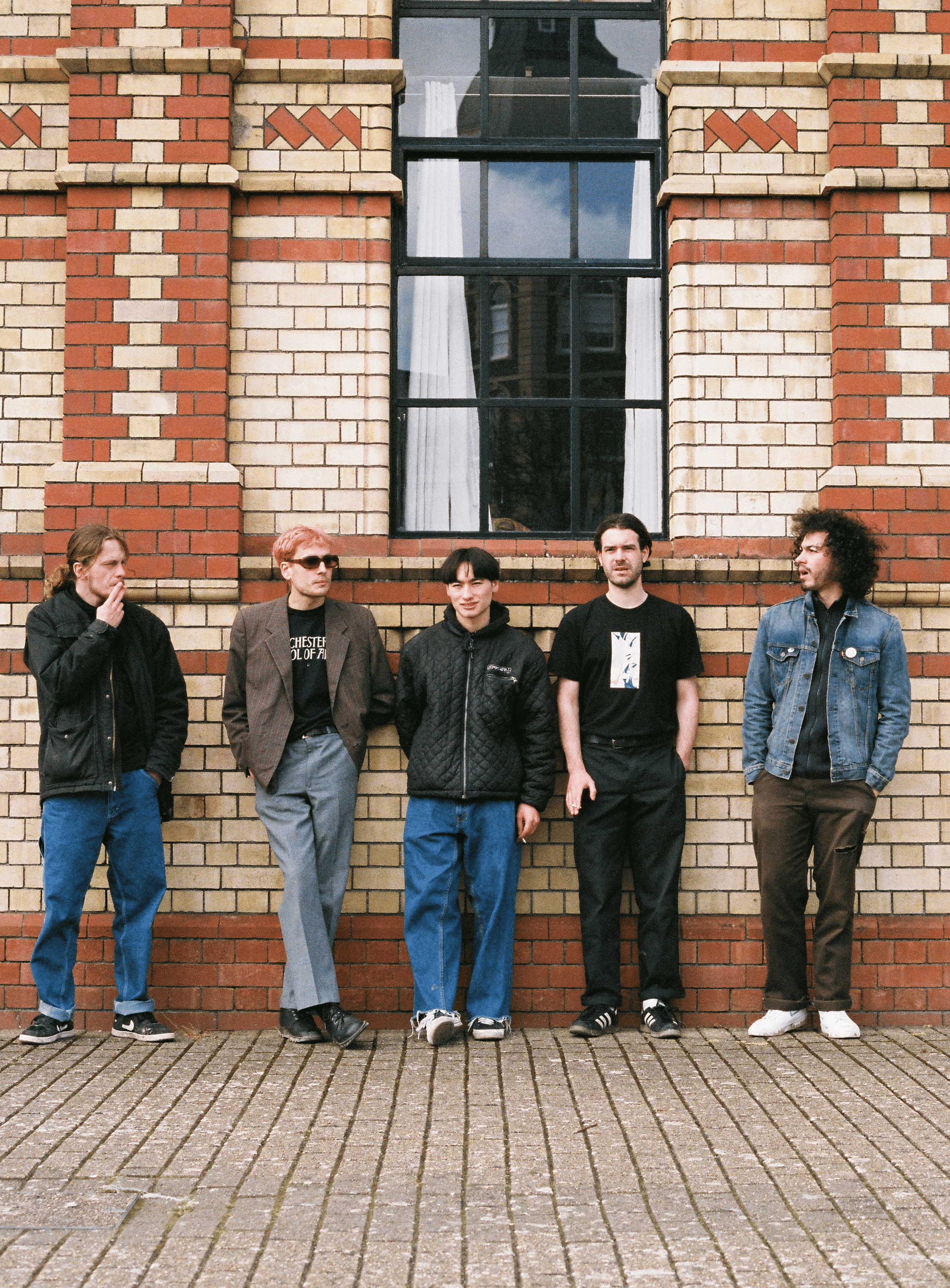 Damefrisor band photo. Photo by Amia Ocean
