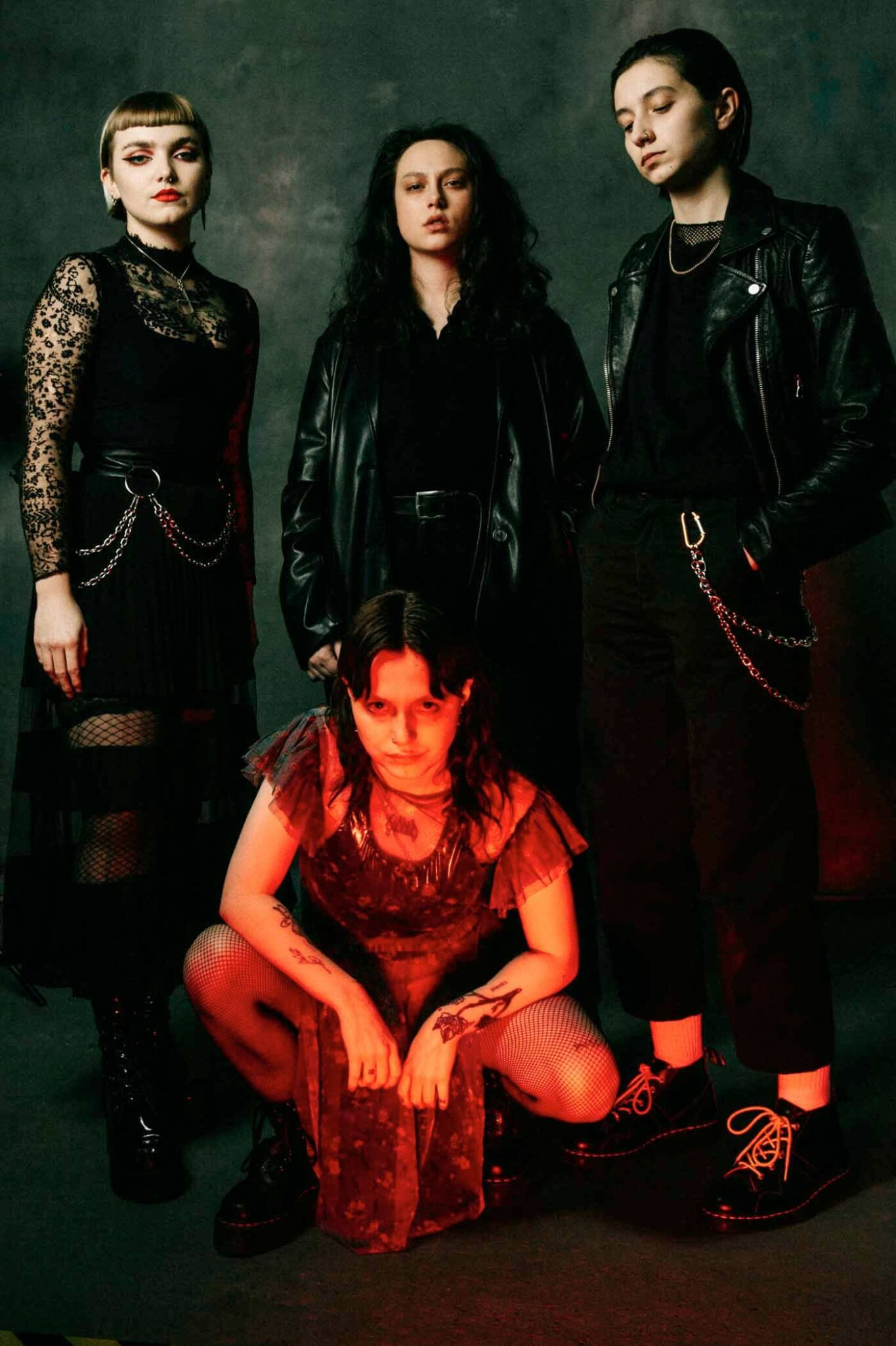 Witch Fever band photo. Photo by Debbie Ellis