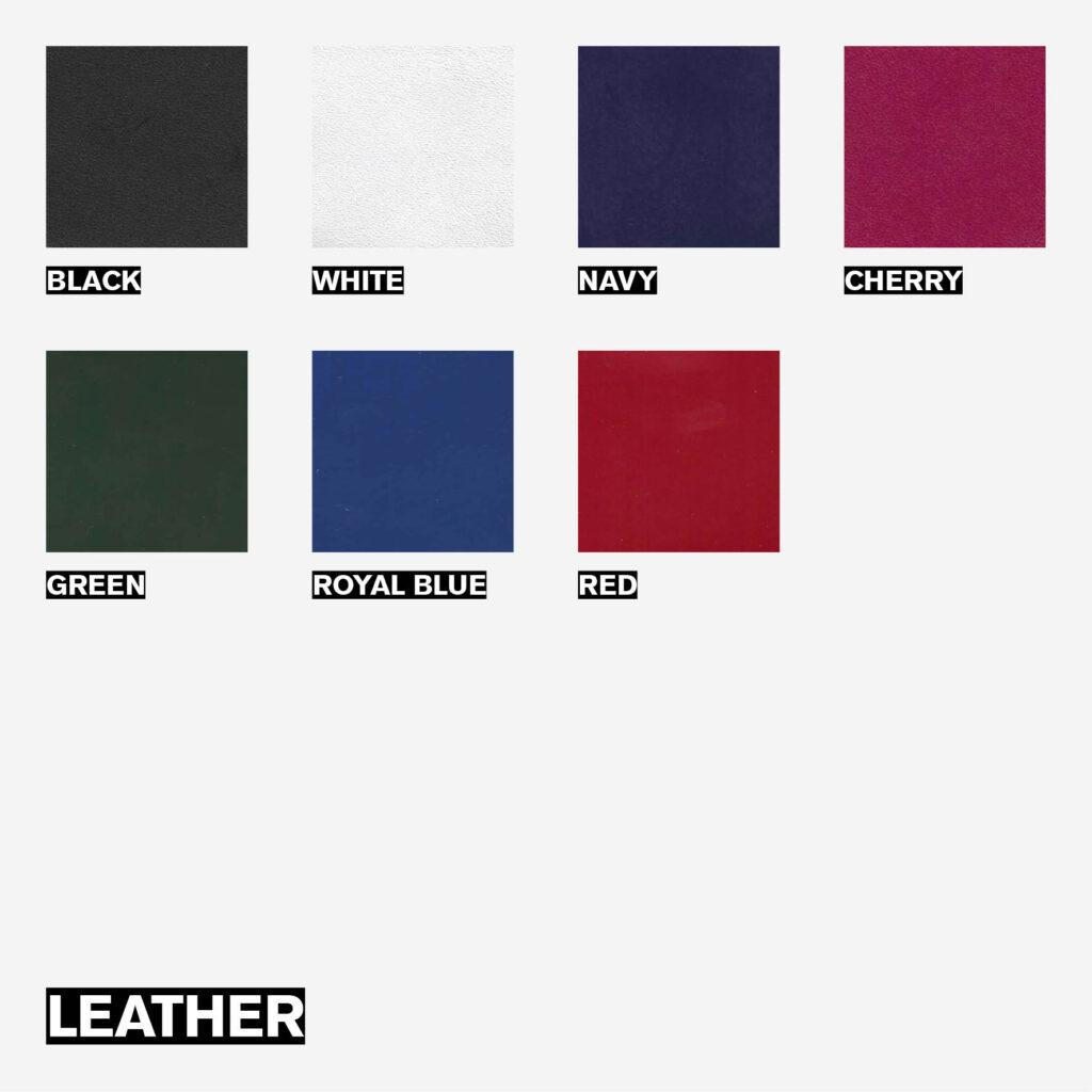 Custom Made Service - Leather options