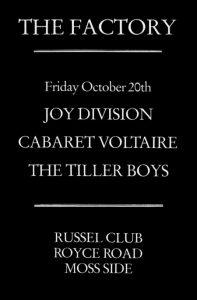 Joy Division at Russel Club - Underground England blog