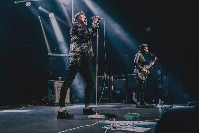 Saint PHNX performing live - Photo by Stevie Jukes & John Cargill
