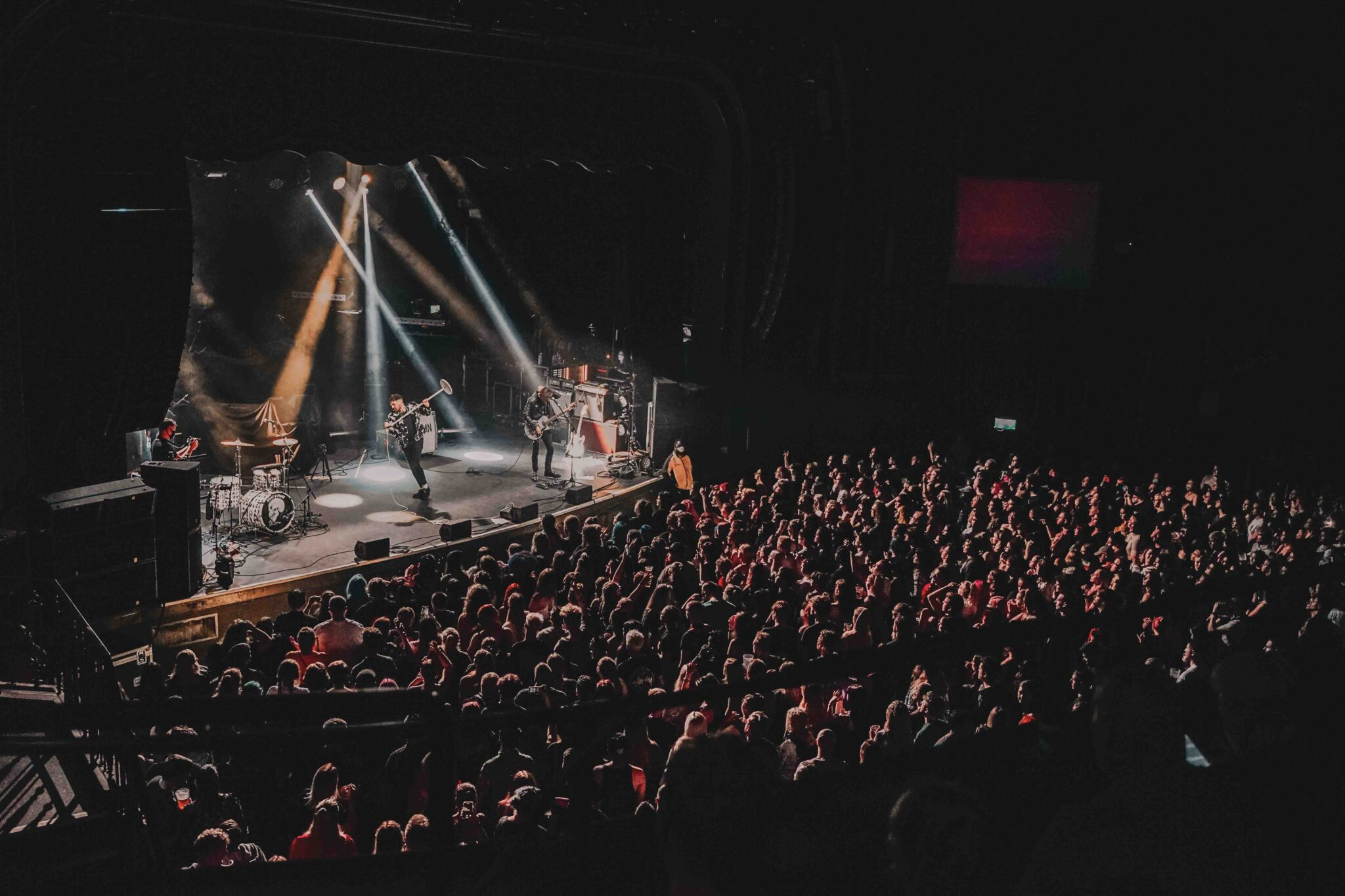 Saint PHNX performing live - Photo by Ben Stapleton
