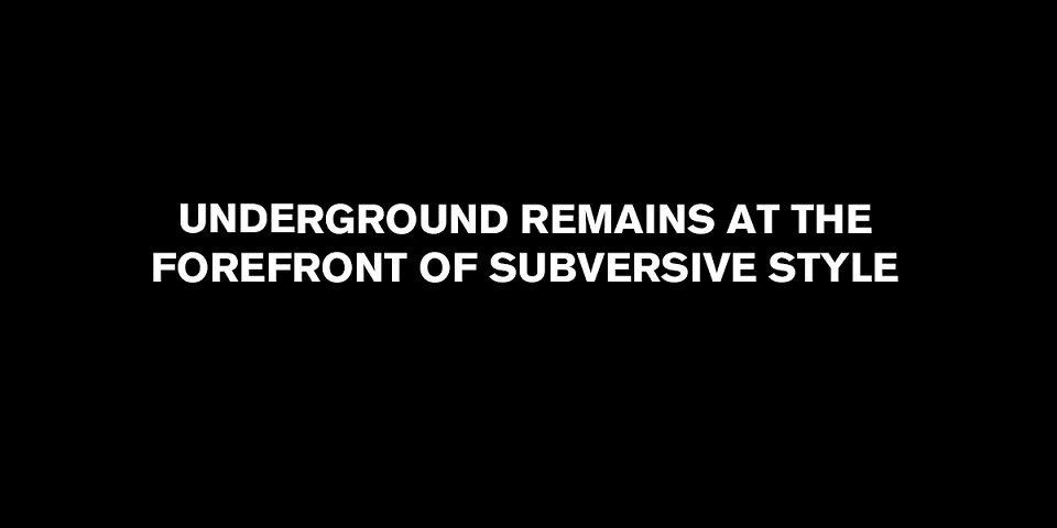 12. Underground - Underground Remains