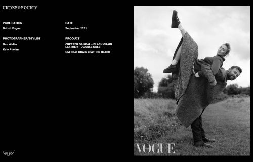 Press Features Gallery - British Vogue Photographer/Stylist: Ben Weller Kate Phelan