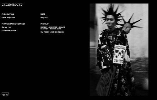 Press Features Gallery - Independents 2021 Photographer/Stylist: Saram Han Dominika Szmid