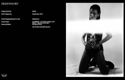 Press Features Gallery - Independents 2021 Photographer/Stylist: Jonny Kaye Danny Walker