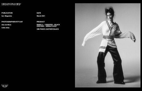Press Features Gallery - Independents 2021 Photographer/Stylist: Alex De Mora Celia Arias