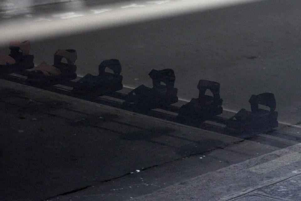 4. Paris SS15 Underground Clothing Steel Cap Boots Shoes