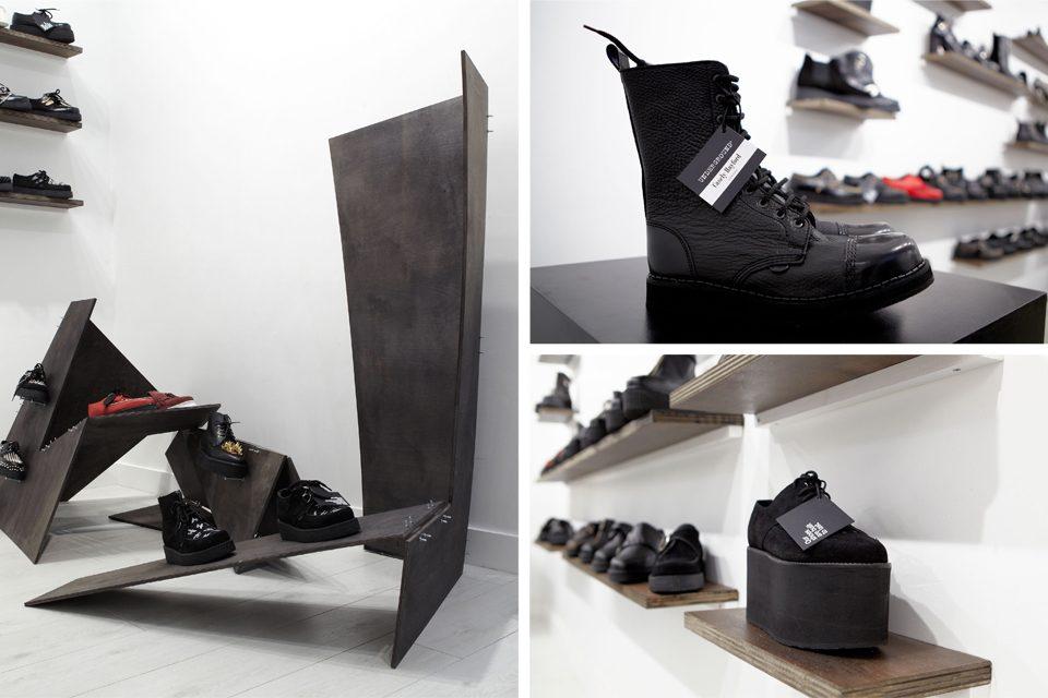 4.Paris-Under-Half moon clothing label brand black white