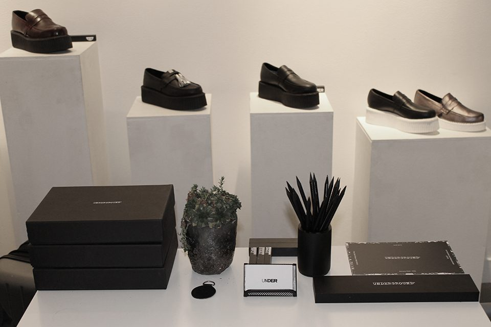 6. Underground Paris Showroom Sneaker Shoes Nufuture