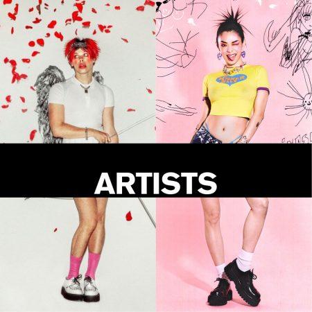 Underground Press Features Gallery - Artists