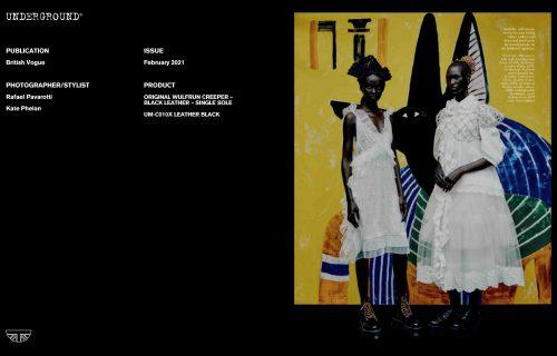 Press Features Gallery - British Vogue Photographer/Stylist: Rafael Pavarotti Kate Phelan