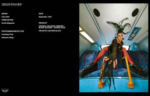 Press Features Gallery - Artists Cara Hart Photographer/Stylist: Courtney Paul Samuel J Borg