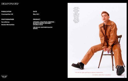 Press Features Gallery - Cosmopolitan Photographer/Stylist: Kaj Jeffries Natalie Michaelides
