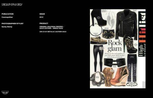 Press Features Gallery - Cosmopolitan Photographer/Stylist Sairey Stemp