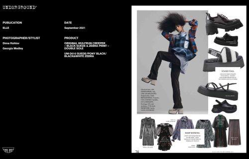 Press Features Gallery - Elle Photographer/Stylist: Dima Hohlov Georgia Medley