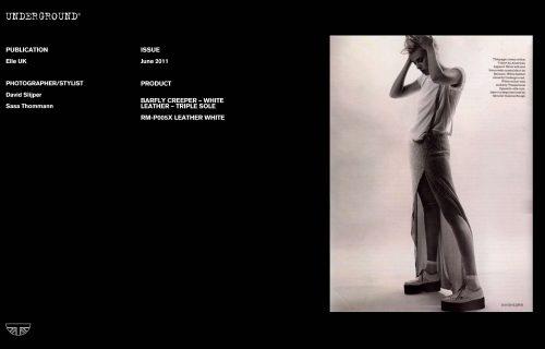 Press Features Gallery Elle Photographer/Stylist David Slijper Sasa Thommann