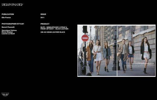 Press Features Gallery - Elle Photographer/Stylist Benoit Peverelli Veronique Vatinos Elvire Emptaz Leanne Le Bault