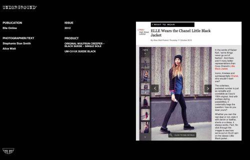 Press Features Gallery Elle Photographer/Stylist: Stephanie Sian Smith Alice Watt